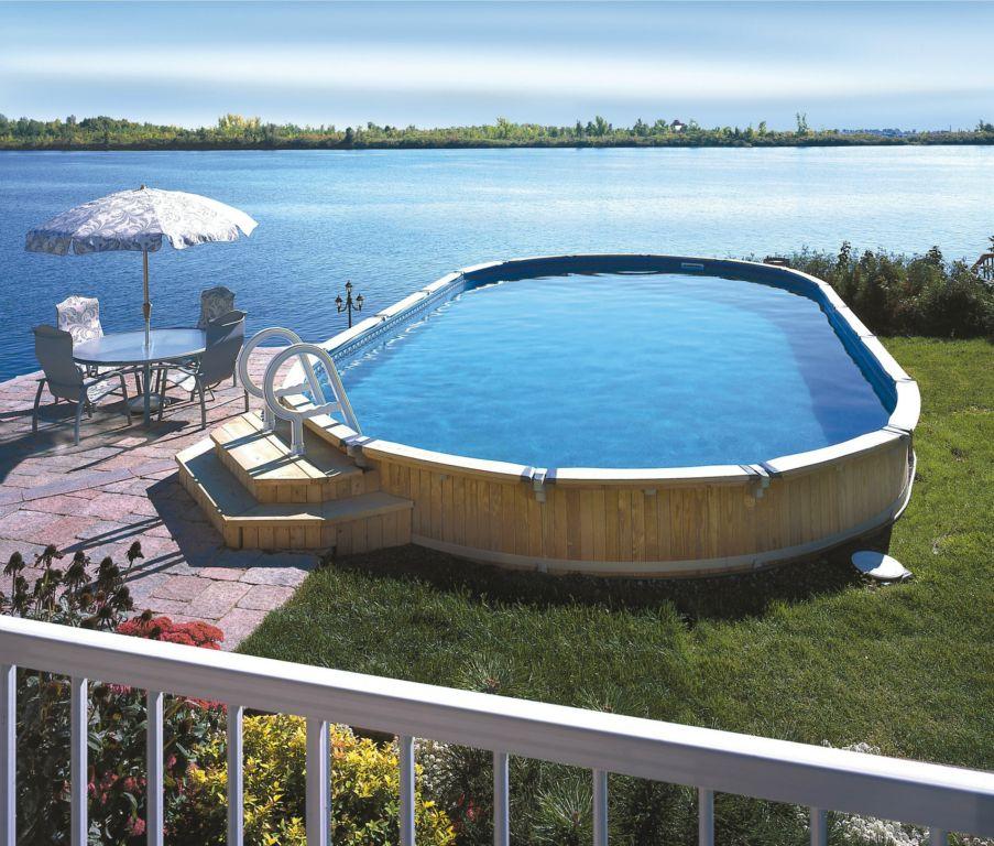 International caratti galleria fotografica for Faretti per piscine fuori terra